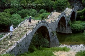 Stone Bridge w/Arches